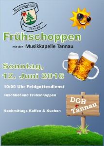 Flyer 2016 Frühschoppen front
