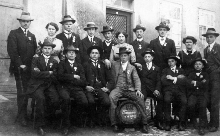 Gruppenbild 1914